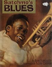 Satchmo's Blues (Picture Yearling Book)-ExLibrary