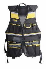 Tool Vest Electrician Carpenter Plumber Utility Bag Pouch Framer Work Storage