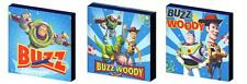 Toy Story Buzz et Woody-Canvas Art blocs / Mur Art plaques / photos