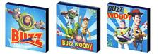 Toy story buzz et woody-toile art blocs/wall art plaques/photos