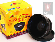 Z14a 0.45X Wide Angle Lens with Macro for Canon VIXIA HF G10 XA10 XF105 XF100 AU