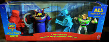 Disney Toy Story 2 Al's Toy Barn Battle Set Rock'em Sock'em Robots Buzz Zurg MIB