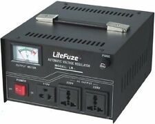 New LITEFUZE LR-1500 WATT VOLTAGE REGULATOR STABILIZER Step Up & Down