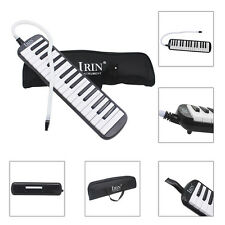 IRIN 32 Piano Keys Black Melodica & Deluxe Carrying Case Bag