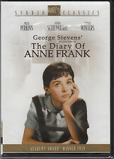 The Diary of Anne Frank (DVD, Studio Classics) New