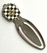 Masonic Carpet & Crest Emblem Enamel Crested Bookmark & Gift Bag (K153)