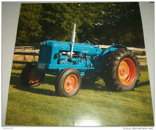 1951 Fordson E27N tractor print