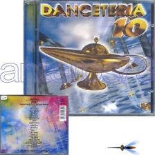 DANCETERIA 10 RARO CD SIGILLATO - DATURA ALEX PARTY JINNY