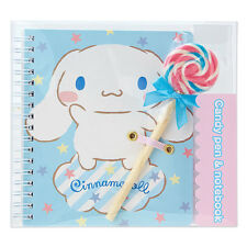 Cinnamoroll candy-shaped pen & mini-notebook set SANRIO from Japan