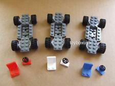 * New * Lego City Car Truck Base Chassis Steering Wheels Seats Tires Parts Sets