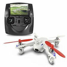 Hubsan H107D FPV 5.8G RC Quadcopter X4 Drone LCD RTF Mode 2 White Radio Control