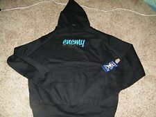 Enemy of The State Cheifin Scalper Mens Hoodie Black NWT Size L