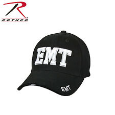 9381 Rothco Deluxe EMT Low Profile Cap - Black