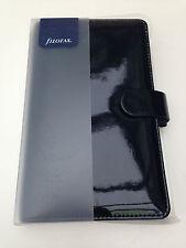 Filofax Compact Patent Black