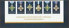 US 5065-5068 Service Cross Medals forever footer strip 6 MNH 2016