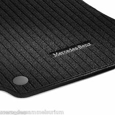 Mercedes Benz Original Set Rips Floor mats E Class W 212 nip black new