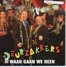 (783F) Waar Gaan We Heen, de Deurzakkers - 2001 CD