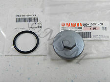 89-91 YAMAHA YFM250 MOTO-4 NEW GENUINE OEM OIL DRAIN PLUG CAP & O-RING Y5H0