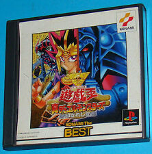 Yu gi Oh! Shin Duel Monsters PS1 Ottima 1a Stampa Jap NTSC con Manuale