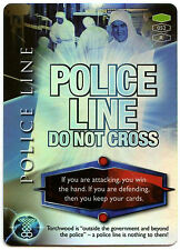 Police Line Do Not Cross #52 Torchwood 2006 TCG CCG Foil Card (C319)