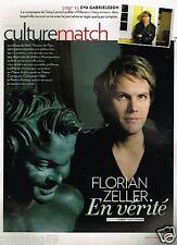 Coupure de Presse Clipping 2011 (3 pages) Florian Zeller