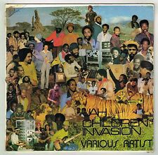 wackies LP : VARIOUS-jah children invasion    (hear)   roots reggae