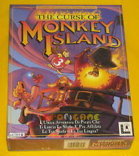 THE CURSE OF MONKEY ISLAND 3 Pc Versione Ufficiale Italiana Big Box »»» COMPLETO
