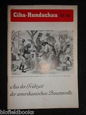 Ciba Rundschau 39/40 - Vintage German Magazine July/Aug 1939- Industrial/History