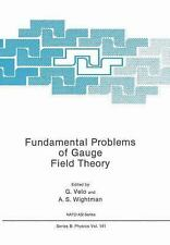 Nato Science Series B: Fundamental Problems of Gauge Field Theory 141 (2013,...