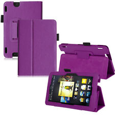 """New Fashion Compact Leather Folio Stand Cover Case For Amazon Kindle Fire HDX 7"""""""