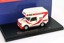 Trabant 601 Year 1980 Motorhome white / red 1:43 Ixo IS