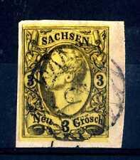 GERMANIA (ANTICHI STATI)  -  SASSONIA - 1855 - Effigie di Giovanni I volta a sx