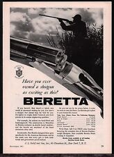 1961 BERETTA Silver Snipe Over Under Shotgun AD Duck Hunter Marsh Photo