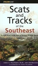 Scats and Tracks of the Southeast (Scats and Tracks Series), James Halfpenny, Ji