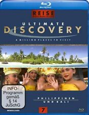 Ultimate Discovery - Philippinen und Bali ( Reise / Tours BLU-RAY ) NEU OVP