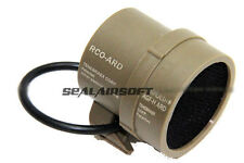 A.C.M. Airsoft Aluminium Mesh Protector Cover For 30mm Sight Scope (TAN)