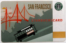 STARBUCKS - SAN FRANCISCO CABLE C - Gift Card Collectible 2009 NO Value RARE !!!