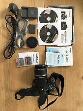 Canon EOS 400d 10.1mp Fotocamera Reflex Digitale-Nero (Kit con EF-S 18-55mm Lens)