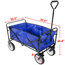 Utility Collapsible Kid Child Garden Folding Wagon Cart Shopping Sports Beach