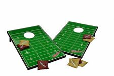 Football Field Toy Toss Cornhole Bean Bag Set Hole Tailgate Regulation Game