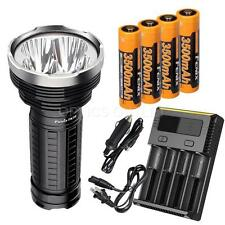 Fenix TK75 2015 4000 Lumen Flashlight 4xFenix 3500mAH 18650, Smart Charger