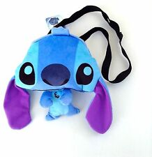 "Disney* Lilo and Stitch Flat Plush Doll-10"" Crossbody/shoulder Bag- STITCH -9200"