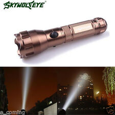 4000 Lumens Wolf Flashlight Lamp Torch 3 Modes CREE XML T6 LED 18650 Battery GD