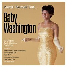Baby Washington - Knock Yourself Out - 29 Original Classics (2CD) NEW/SEALED