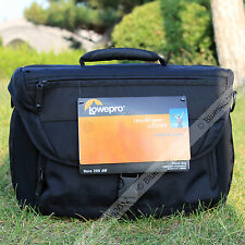 New Lowepro Nova 200 AW DSLR Camera Photo Carry Shoulder Bag Case & Rain Cover