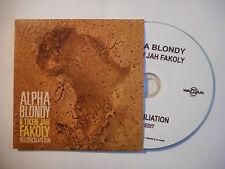 ALPHA BLONDY & TIKEN JAH FAKOLY : RECONCILIATION ♦ CD SINGLE PORT GRATUIT ♦