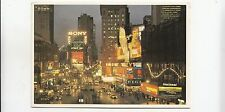 BF28002 new york times square at night  USA front/back image