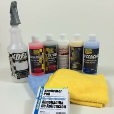 Ardex Professional Car Detailing Kit with Leather Cleaner Conditioner 16 oz DIY