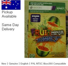 Xbox 360 game : Kinect Fruit Ninja Full Game Download Card ! pickup avail !