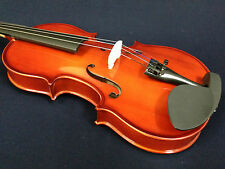 Brand New 1/16 Size Violin Natural + Foam Hard Case Strings Rosin Case Beginner